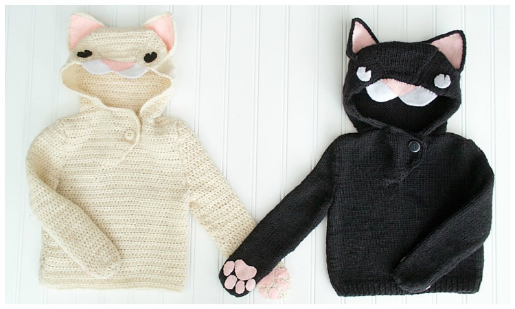 Crochet a Sweater for Your Cat (With images) | Cat sweater pattern ... | 450x750
